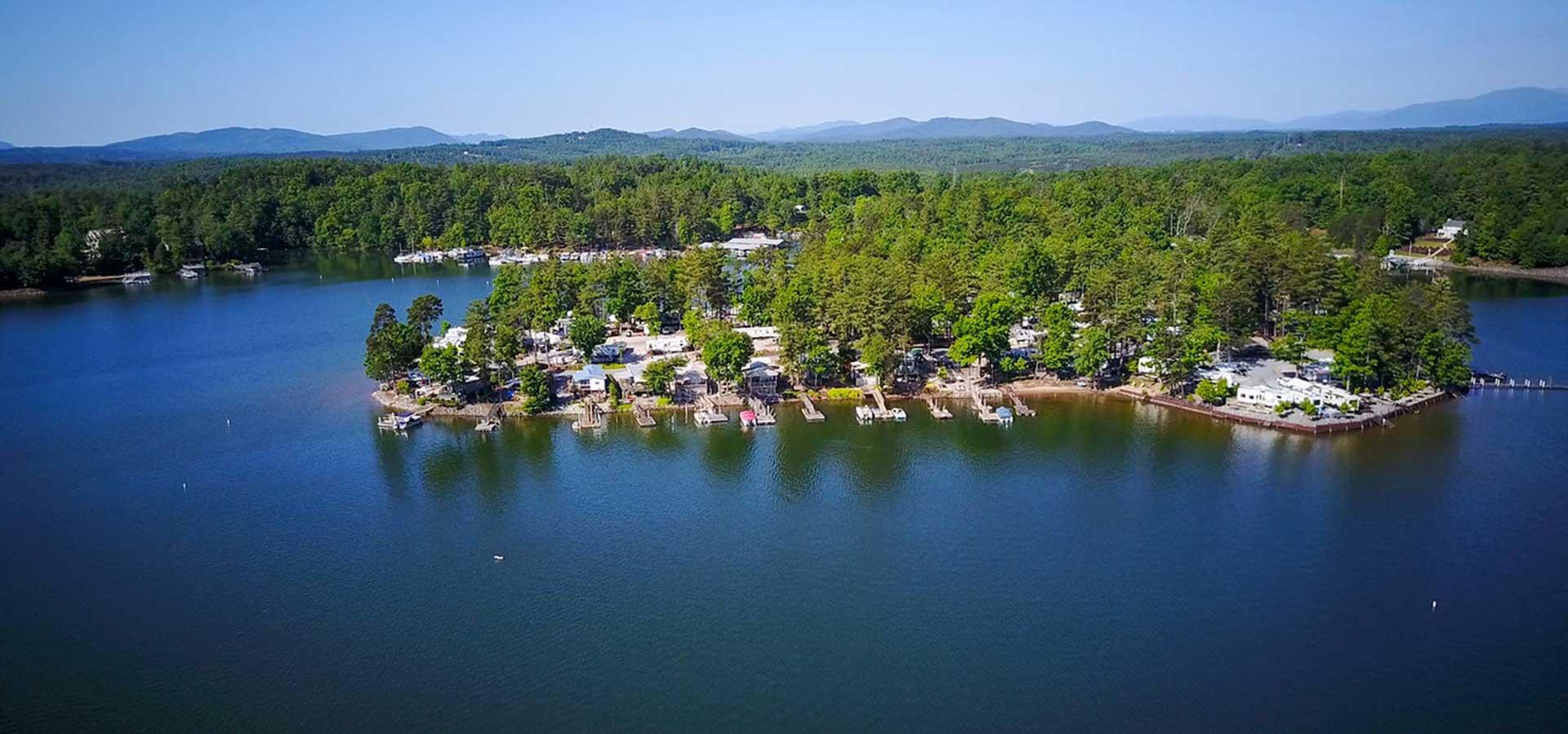 North Carolina Marina & RV Resorts - Lake James Camping ...